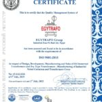 Egytrafo group ISO 9001 - 2015
